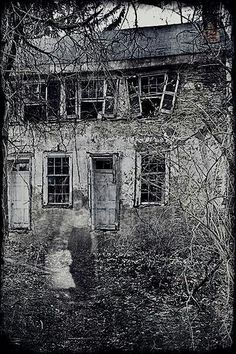 Nova Scotia Ghost stories and Paranormal tales Ghost Images, Images Gif, Ghost Pictures, Real Ghost Photos, Spooky Pictures, Photo Halloween, Halloween Vintage, Creepy Halloween, Spooky Places