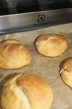 Mini rolls - a simple recipe Sweet crumbs - Fit Mini Rolls, Recipies, Food And Drink, Easy Meals, Cooking Recipes, Menu, Bread, Breakfast, Simple