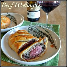Individual Beef Wellington for two