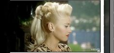 "How to Create Gwen Stefani's retro ponytail from ""Cool"" « Hairstyling"