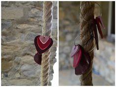 valentine diy   Boucles d'oreilles