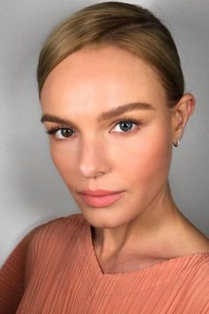 This Unexpected, Rule-Breaking Makeup Look Is HUGE In Hollywood Right Now #refinery29 http://www.refinery29.com/2016/11/128519/lily-aldridge-celebrity-nude-makeup-trend#slide-9 Kate BosworthMakeup artist Patrick Ta created this mono-and-matte look on Bosworth last weekend — even matching her dress. ...
