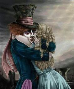 Alice and mad hatter <3