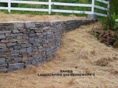 Hometalk :: Granite Stone Wall