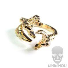 Anel mini claw - Miniminou