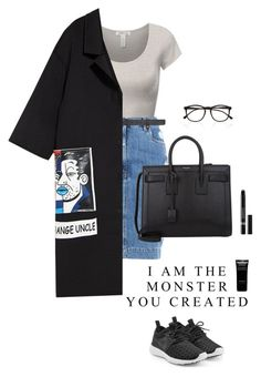 """New York City girl"" by djulia-tarasova ❤ liked on Polyvore featuring Moschino, Vetements, Yves Saint Laurent, Illesteva, NIKE, Givenchy and Christian Dior"