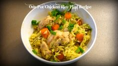 This fabulous One Pot Chicken Rice Pilaf is a healthy, wholesome, nutritious and delicious dish to make for your family and friends. Chicken Rice Pilaf Recipe, Other Recipes, Great Recipes, One Pot Chicken, Tasty Dishes, Gluten Free Recipes, Poultry, Victoria, Friends