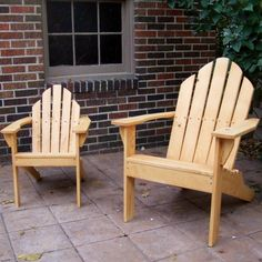 Build an Adirondack chair in adult and child sizes. Includes step-by-step instructional DVD! Jet Woodworking Tools, Rockler Woodworking, Woodworking For Kids, Beginner Woodworking Projects, Woodworking Store, Woodworking Patterns, Woodworking Magazine, Outdoor Chairs, Outdoor Furniture