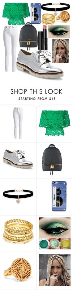 """""""Sophia Brown"""" by hannah-graves ❤ liked on Polyvore featuring Barbour International, Bambah, Stuart Weitzman, MICHAEL Michael Kors, Betsey Johnson, Kate Spade, Ariella Collection, Arbonne and Chloé"""