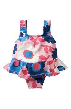 Mini Boden 'Fifties' Swimsuit (Infant)