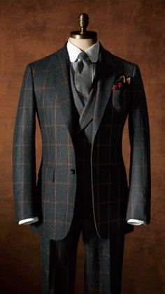 The Style Buff // by Gianni Fontana — iqfashion: Source: paulstuart.jp – [pin_pinter_full_name] The Style Buff // by Gianni Fontana — iqfashion: Source: paulstuart.jp The Style Buff // by Gia… Mens Fashion Wear, Stylish Mens Fashion, Suit Fashion, Fashion Shirts, Tweed Suits, Mens Suits, Classy Suits, Mode Costume, Style Masculin