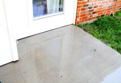 DIY Miracle Concrete Patio Cleaner