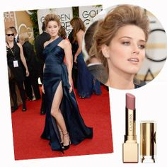 Amber Heard Golden Globes 2014.