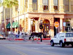 Downtown Galveston Texas