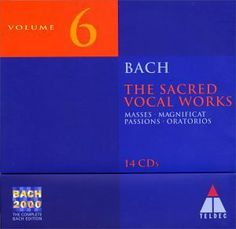 The sacred vocal Works / Bach