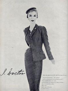 Doctor Dress Co - Vogue 1955