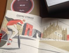 """Check out this @Behance project: """"CITY CYCLING GUIDES - Europe"""" https://www.behance.net/gallery/11870395/CITY-CYCLING-GUIDES-Europe"""