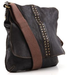 Campomaggi Lavata Messenger Bag Leather wardow.com