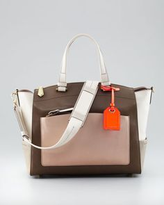 Uniform Satchel Bag, Neutral by Reed Krakoff at Neiman Marcus.