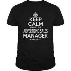 ADVERTISING SALES MANAGER - KEEPCALM WHITE T-Shirts, Hoodies (22.99$ ==► Order Here!)