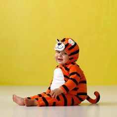 roar! tiger halloween costume. #carters- cute!