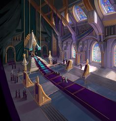 throne room concept fantasy tara castle anime medieval palace futuristic annuminas grand dark sci fi rooms places rings environment lord