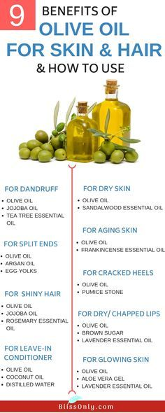 10 Benefits Of Olive Oil For Skin And Hair And How To Use With
