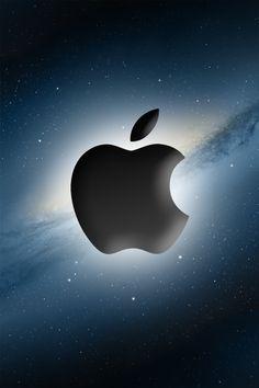 iPhone Wallpaper - Apple Galaxy by ~mblode on deviantART