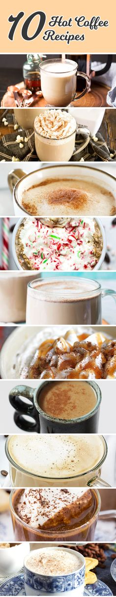 We searched Pinterest to find 10 of the best homemade coffee recipes. Spice up your morning by trying some of these coffee creations.