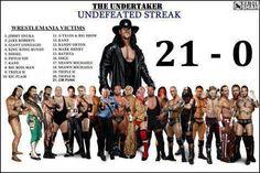 The Undertaker ~ The Streak