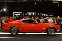 1969 Ford Mustang Boss 429 on the Auction Block