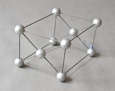 Molecular models, chemistry models, atom models, lab supply geometric sculpture teaching material
