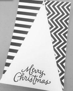Kartki świąteczne DIY, ręcznie robione kartki świąteczne, fot. instagram.com/bonniedooncentre