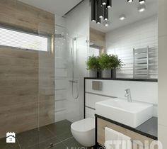 Mała łazienka w stylu skandynawskim - zdjęcie od MIKOŁAJSKAstudio