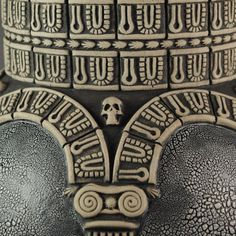 """Est Finis Omnium - End of All Things"" - detail Andrew Tarrant - Trespasser Ceramics Earthenware, Carving, Pottery, Ceramics, Detail, Unique, Artwork, Joinery, Work Of Art"