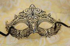 Luxury Gold Silver Pink Purple Red Blue Black Venetian MardiGras Masquerade Mask | eBay