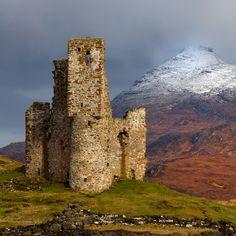 Advreck castle, Lochinver
