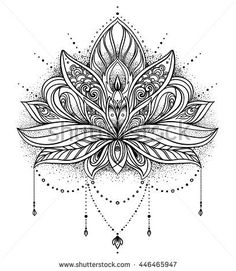 lotus flower mandala design                                                                                                                                                                                 More