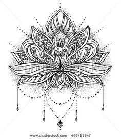 lotus flower mandala design                                                                                                                                                                                 More