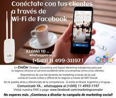 #GRATIS para TUS clientes Comienza YA tu campaña de marketing Whatsappea YA #buscawifi #wifigratis #internet #social https://www.facebook.com/notes/strategic-consulting-digital-marketing/facebook-wi-fi-gratis-en-tu-negocio/345483272497212