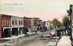Vicksburg, Michigan ca. 1900. Vicksburg Historical Society photo