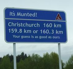 Munteroonied - aka Christchurch, New Zealand After the earthquakes, Munted, became the official word to describe our fair city. Even newscasters and politicians started using the term. :D