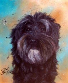 Custom Pet Portrait Original Oil paintingDog painting Pet