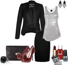 """""""Last Christmas Party Outfit"""" by the-syrene ❤ liked on Polyvore"""