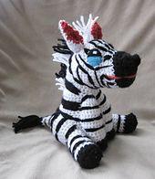 Ravelry: Zebra pattern by Christine Lucas