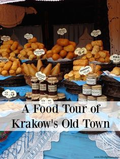 A tour of the local foods we tried in Krakow's Old Town