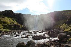 Cascade près de Seyðisfjörður