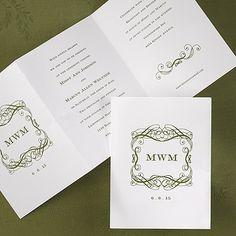 Flourish Highlights - Invitation - Wedding Invitation Ideas - Wedding Invites - Wedding Invitations - Create a FREE Proof Online - Order Sample Invitations #weddings #wedding #invitations
