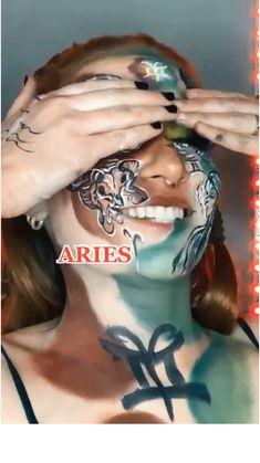 Zodiac Sign Traits, Zodiac Signs Astrology, Zodiac Signs Aquarius, Zodiac Star Signs, Sagittarius, Cool Makeup Looks, Crazy Makeup, Cute Makeup, Makeup Art
