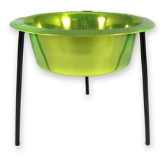 Platinum Pets 8-Cup Single Saucer Feeder with Wide Rimmed Bowl, Corona Lime >>> Click image to review more details. (This is an affiliate link and I receive a commission for the sales)